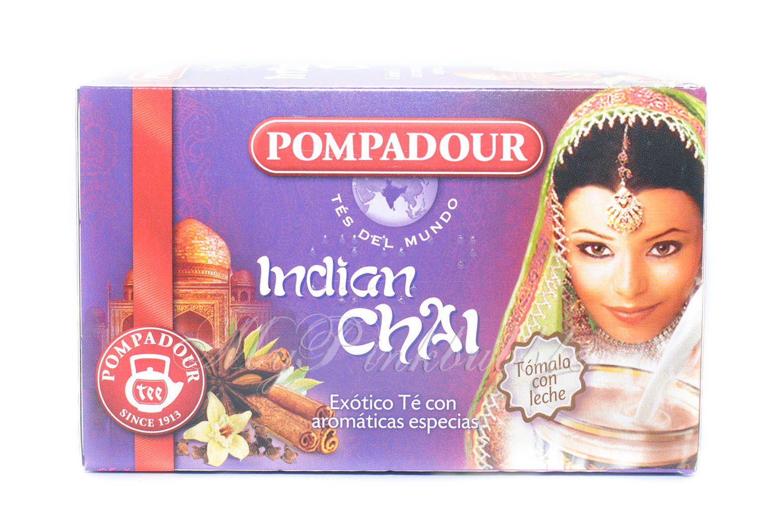 Pompadour Indian chai