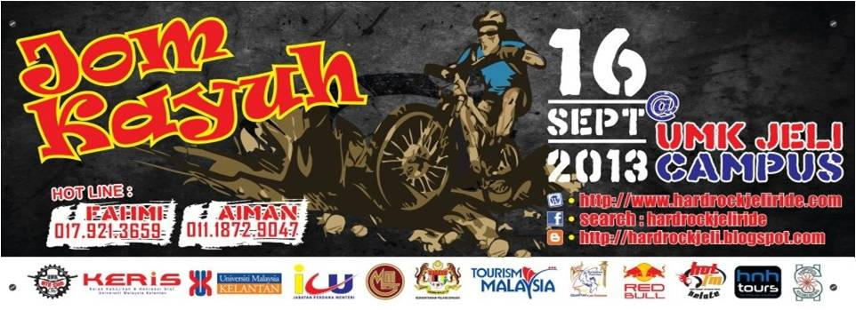 International Hard Rock Jeli Ride 2013