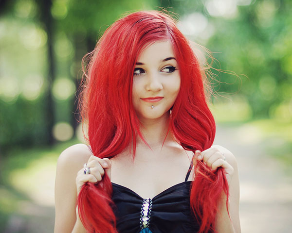 Crazy Hair Styles Red Women Hair Color Ideas