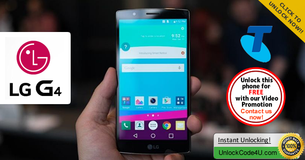 Factory Unlock Code LG G4 from Telstra