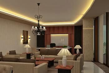 Koleksi Terbaik Desain 3D Interior Furniture Ruang Kerja Kantor Presdir Rapi Minimalis Menarik Modern