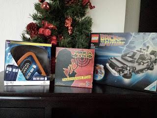 Spiele, Sherlock Homes, Doctor Who, Zurück in die Zukunft von Lego