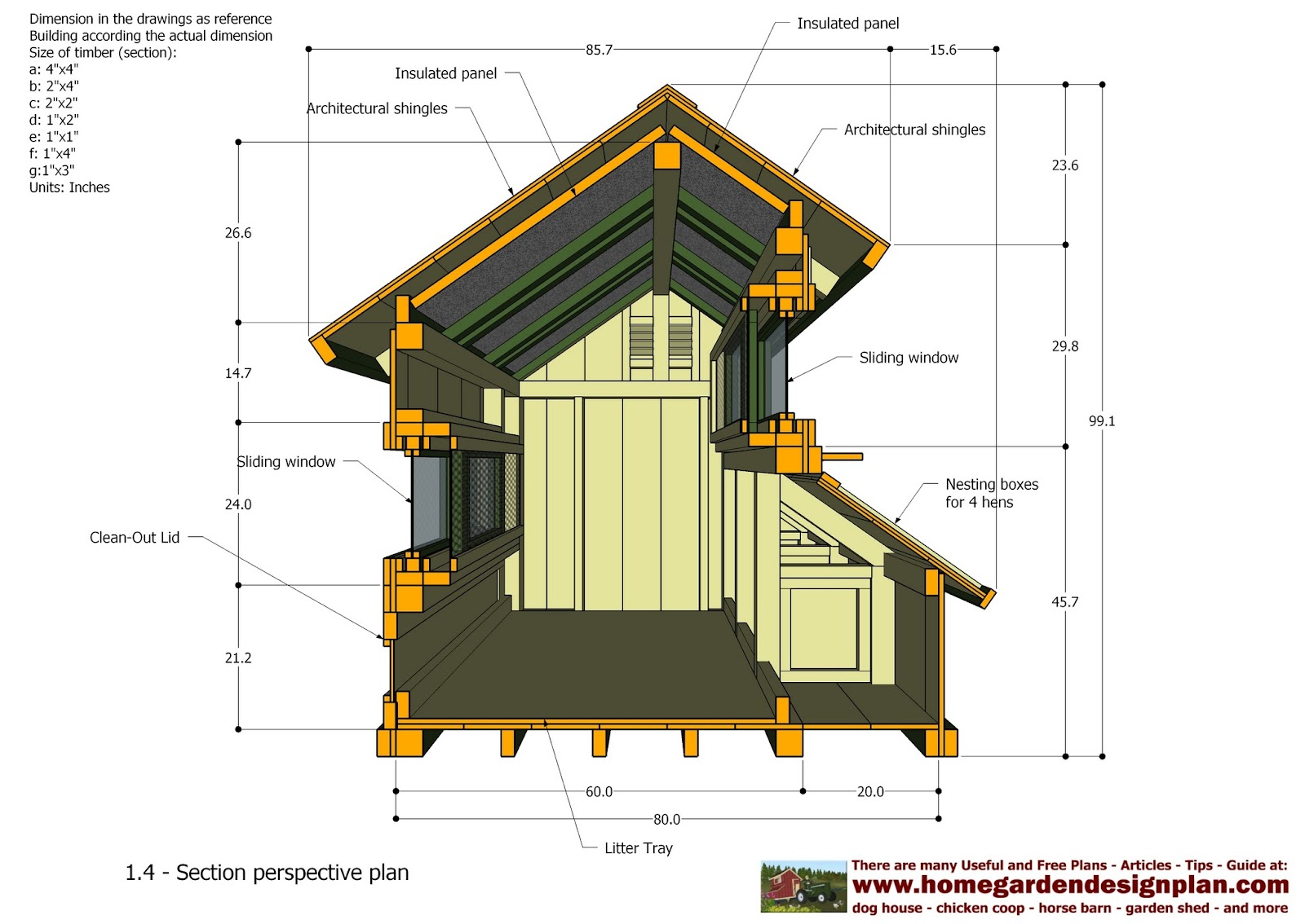 Home Garden Plans T200 Chicken Coop Tractor Plans Free Chicken Coop Plans How To Build A