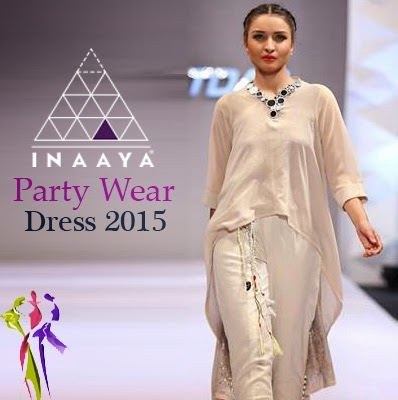 Designer Unique Party Wear Dresses 2015 by Inaaya