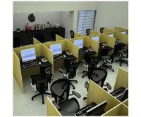 baias escritório telemarketing