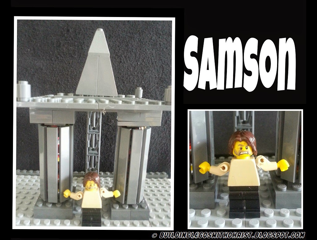 Samson LEGO® Creation - Biblical LEGO® Creations