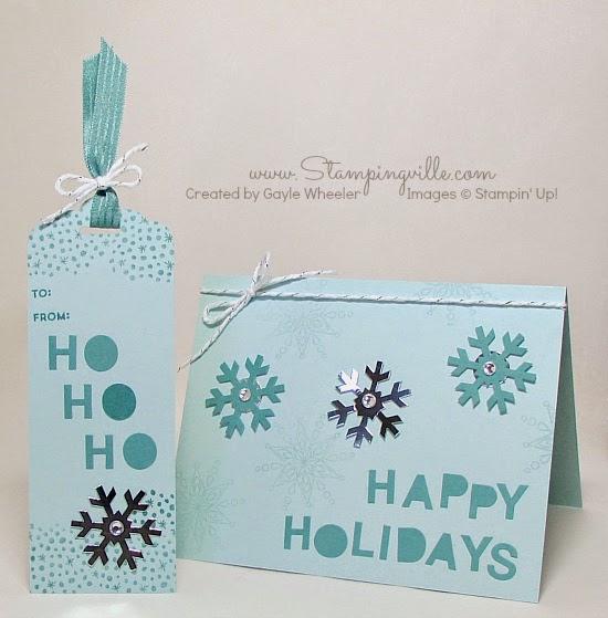 Simply Snowflake Paper Pumpkin Kit | Stampingville #paperpumpkin #StampinUp #papercrafts