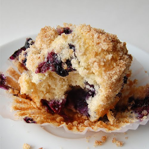 The Craftinomicon: Friday Food Craft: Blueberry Muffins