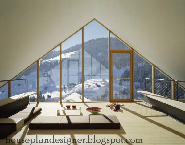 Home design mountain cabin design for Architectural designs for chalets