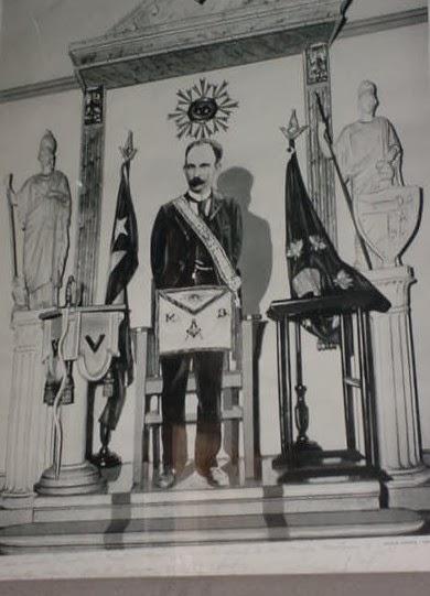 Logia Armonía y José Martí Marti+Mason