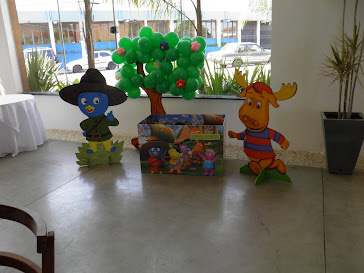 Backyardigans - Cantinho dos Presentes da Ana Julia