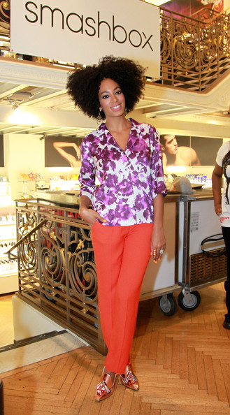 Fashion Lifestyle And Beauty Celebrity Watch Print Queen Solange Knowles