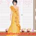 Bedava Sarı Gece Elbisesi