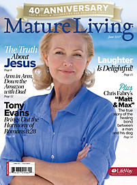 "Find my article ""The Answer in the Hymnbook"" about diligent prayer in the JUNE Mature Living."