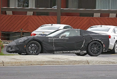 Chevrolet Corvette Z07 Spy Shots