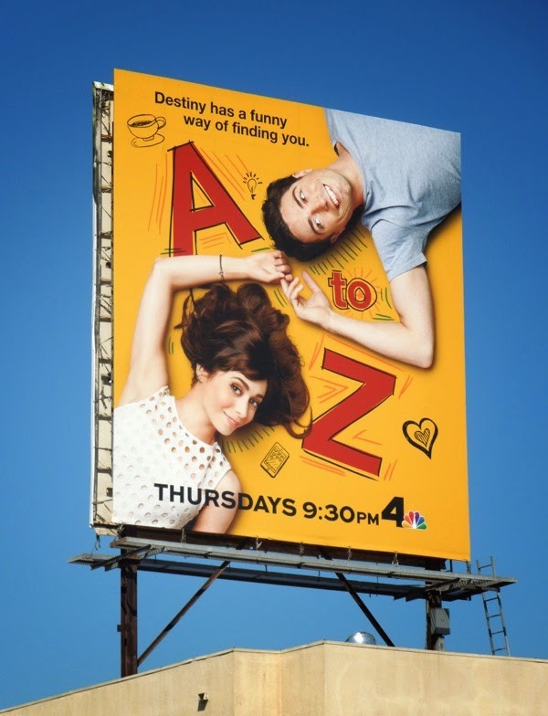 A to Z season 1 billboard