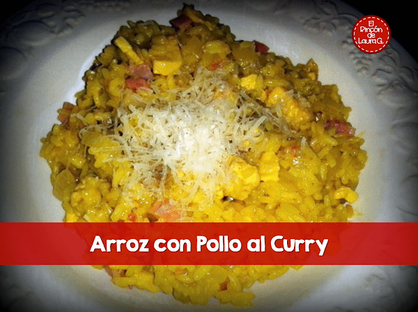 Arroz con pollo al curry for Como cocinar pollo al curry