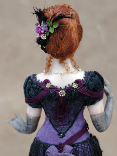 Chantelle Miniature Doll Back View Close Up