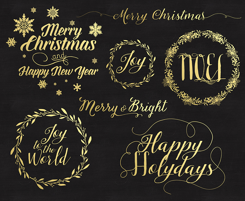 photo overlays, for photographers, christmas, word overlays, Handwritten Photo Overlays, gold foil, chalk, templates for photographers