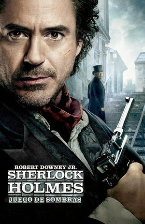 Poster Sherlock Holmes: A Game of Shadows 2011