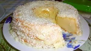 Receita: Bolo de leite de coco