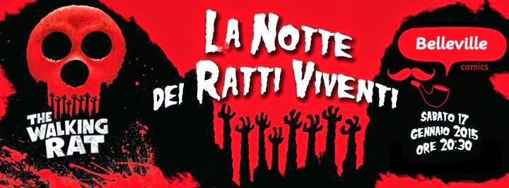 La Notte dei Ratti Viventi - The Walking Rat