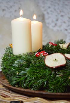 Zauberhaften Adventskranz selber machen