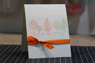 Fall Invitation Stamping Tutorial
