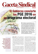 GACETA SINDICAL