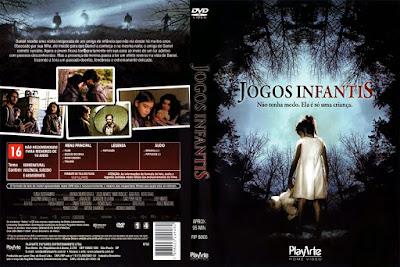 Filme Jogos Infantis DVD Capa