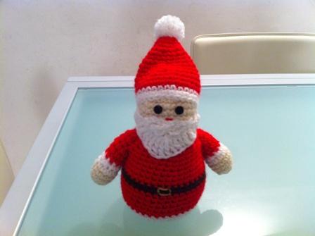 Tutorial Amigurumi Babbo Natale Uncinetto : Amigurumi Fabiana: mini babbo natale