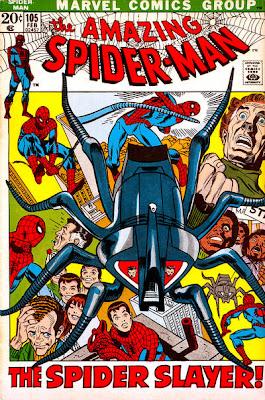 Amazing Spider-Man #105, the Spider-Slayer returns