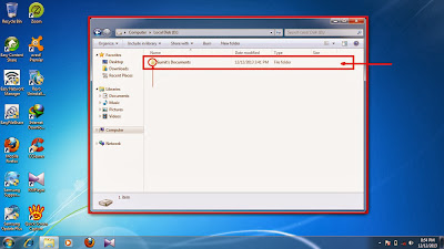 How to show hidden folder and files in windows 7 step14