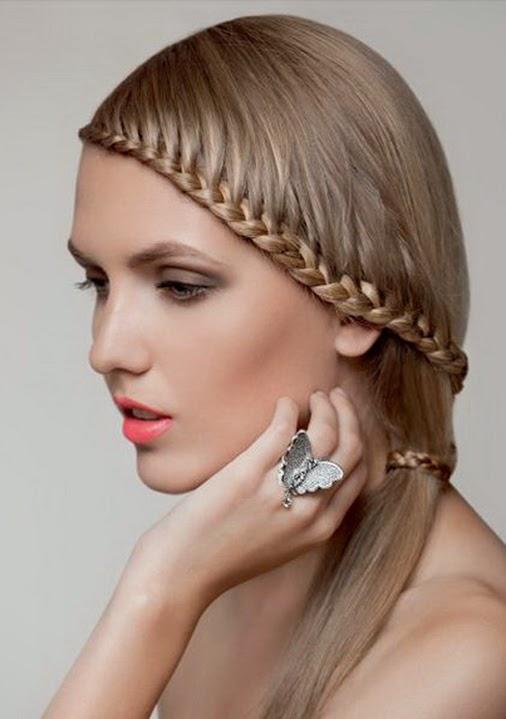 Estilos Y Peinados De Moda Peinados Con Trenzas Para Quinceaneras 2014