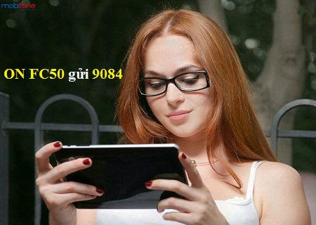 Đăng ký 3G Fast Connect FC50 Mobifone