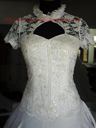 white silk kebaya