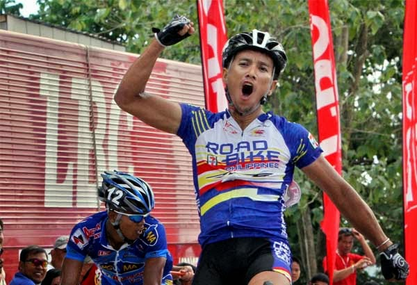 Top Irigueno cyclist Cris Joven