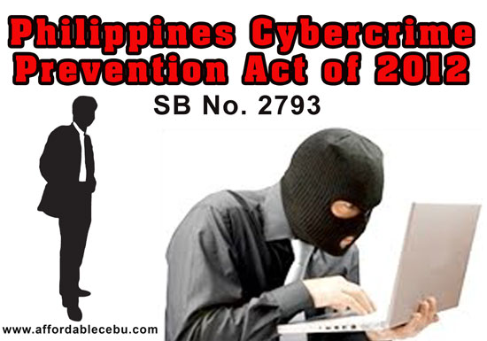 cybercrime prevention act of 2012 or It has been almost a month since the president signed ra 10175 (cyber crime prevention act of 2012) into law and despite the sweet temptation to join in the fun and react to all the brouhaha about the alleged unconstitutionality and despotic nature of the law in facebook, i have held all opinions on the matter until i have fully read the whole law – partly in fear that it may fall within the.