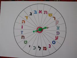 """רולטה """"אב"""" מתאימה לכל נושא לאורך השנה: השפה העברית, חגים, טבע, בעלי חיים, איכות הסביבה, ארצות ועוד"""