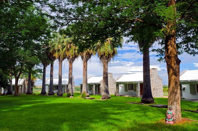 Namibia's Garden of Eden - Kalahari Farmhouse