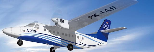 28 Oktober 4 Pesawat N-219 PT. DI akan ditampilkan didepan publik