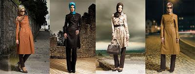 Gambar Trend Model Baju Kerja Wanita Muslim Terbaru 2013
