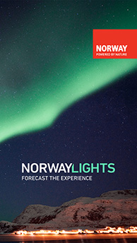 NorwayLights – la nueva aplicación móvil para buscar las auroras boreales