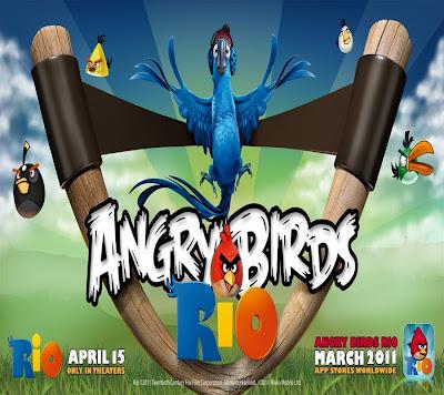 Angry Birds Rio Game