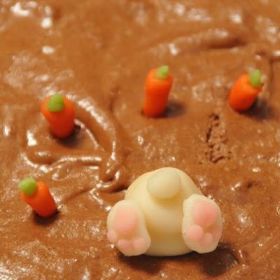 Mousse au chocolat et lapin