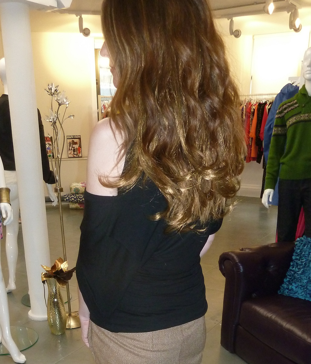 Hair Salon Extensions : salon confidential clip in hair extensions photo by shore delano salon ...