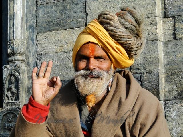 Sadhu de Katmandu