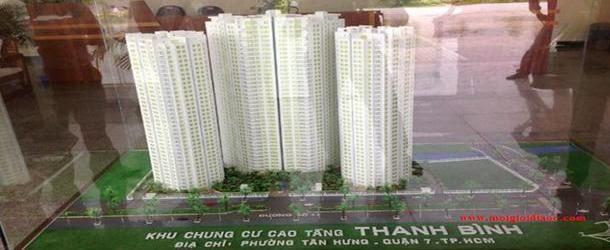 Phối cảnh căn hộ Hoàng Anh Thanh Bình