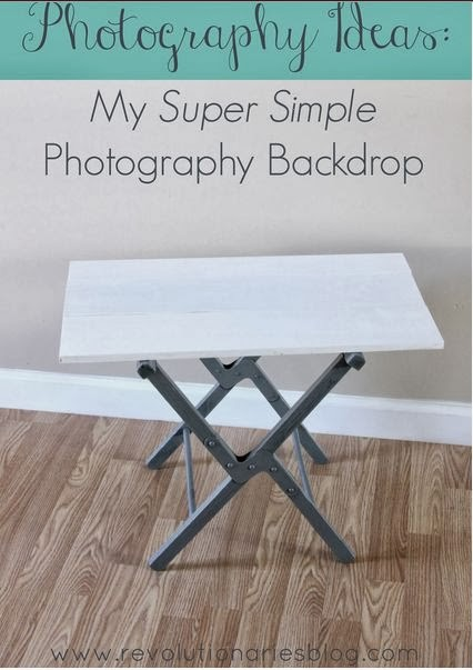 Simple DIY Photography Backdrop