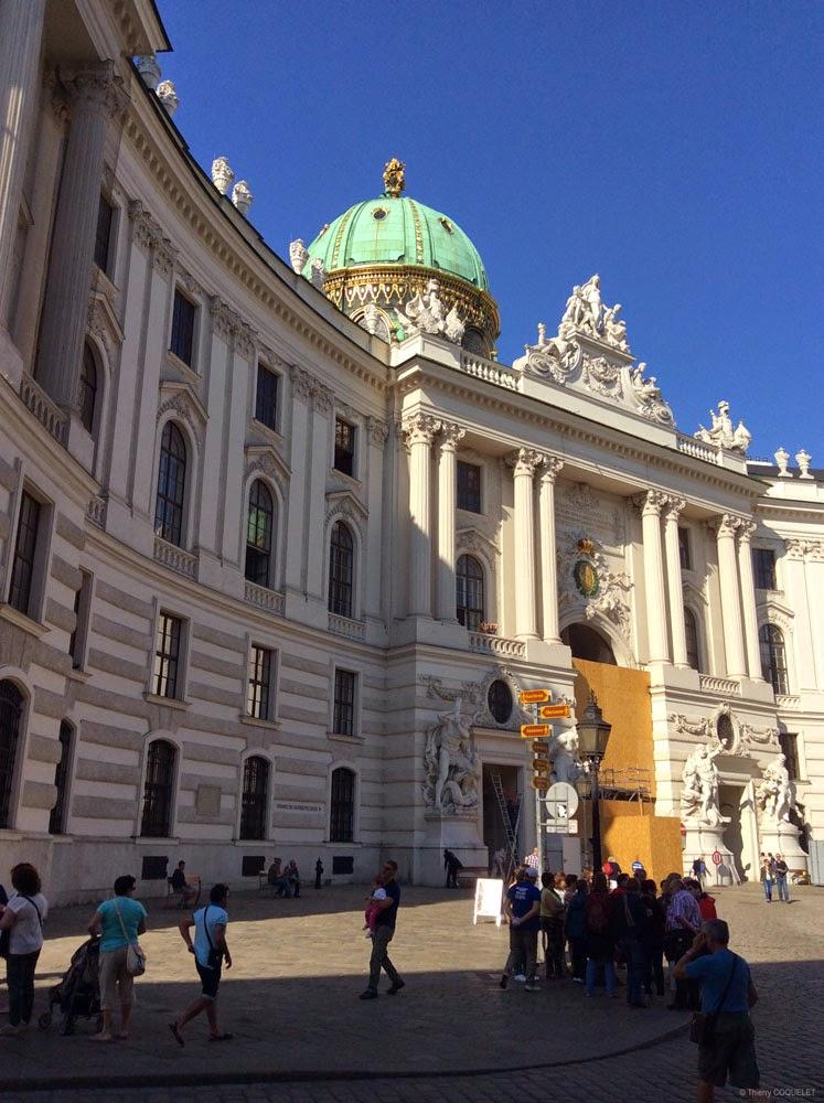 Palais impérial Hofburg.